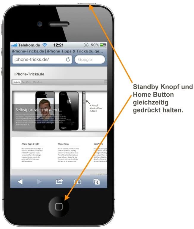 Как сделать жесткий сброс на iphone 5s