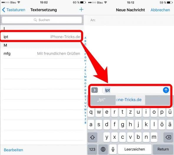kurzbefehl_iphone_textersetzung_2