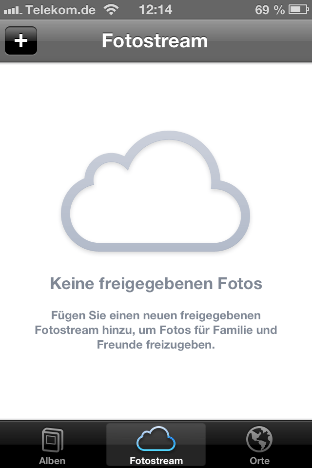 iOS 6 Fotostream teilen