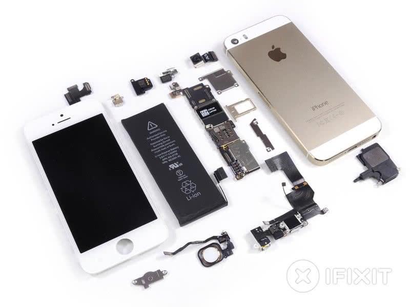 Was kosten die Einzelteile des iPhone 5s?