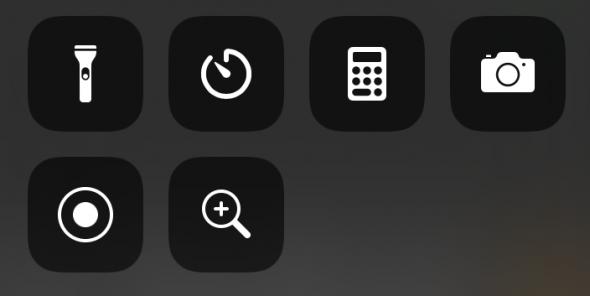 iPhone Kontrollzentrum in iOS