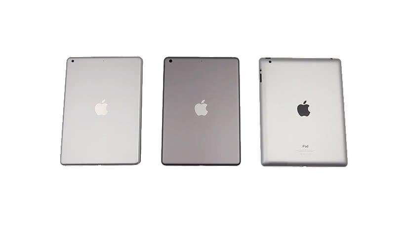 iPad Air und iPad 4 im Vergleich