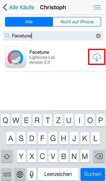 Bezahlte App auf mehreren Geräten installieren