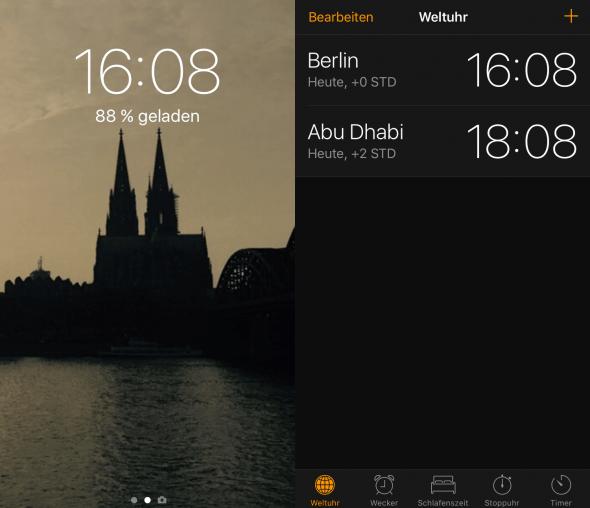 Uhr iPhone