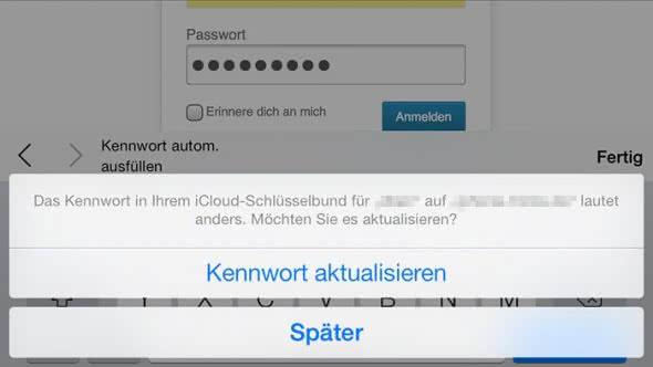 Gespeichertes passwort löschen safari iphone