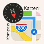 Versteckten Kompass in Karten App nutzen
