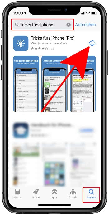 App erneut herunterladen im App Store
