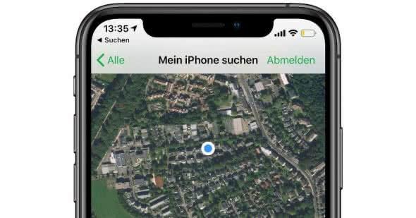 Mein iPhone suchen