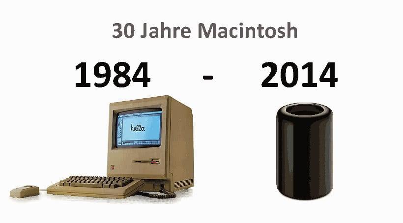 Jubiläum: 30 Jahre Mac