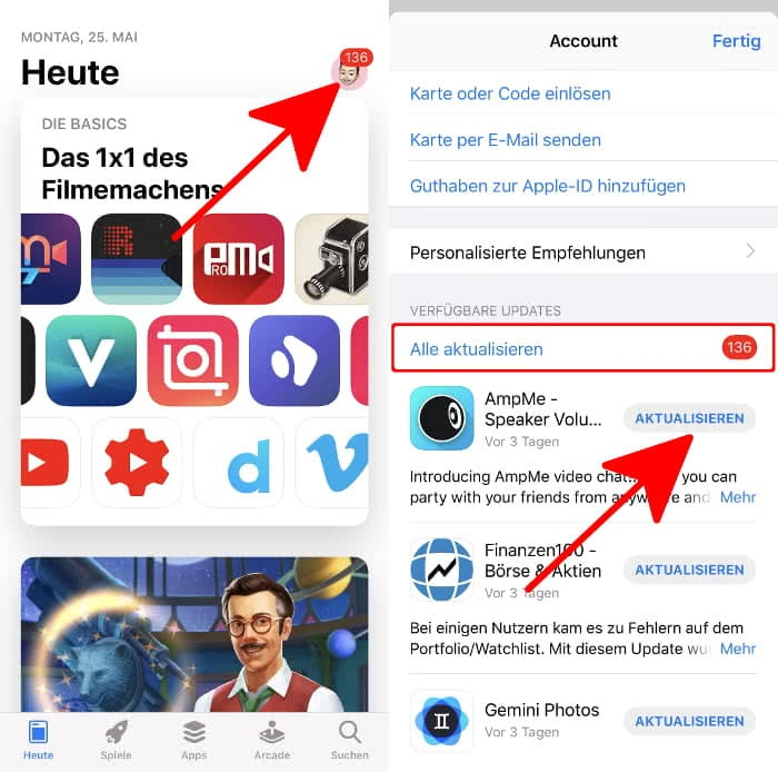 Iphone App Aktualisieren