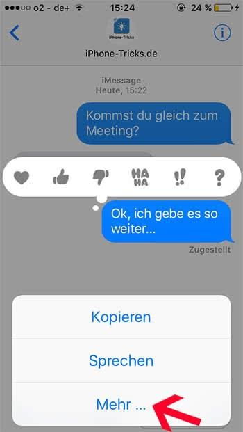 Sms nachrichten löschen iphone