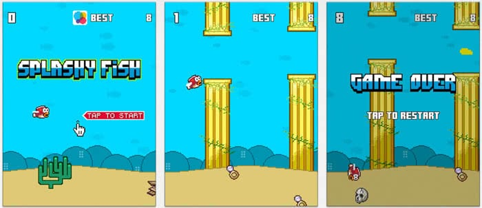 App Store Flappy Bird Adaption: Splashy Fish