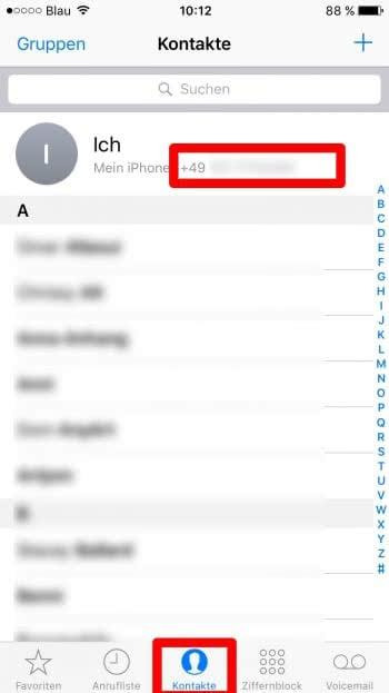 iphone_eigene_rufnummer