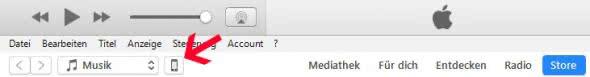 iPhone zurücksetzen iTunes