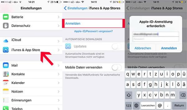 Apple-ID teilen mit mehreren Geräten