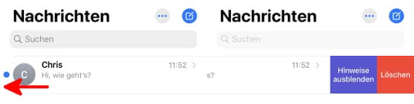 iMessage Chat löschen