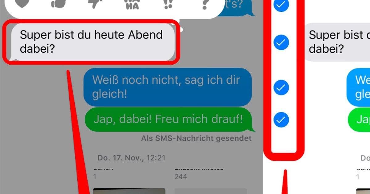 Iphone messenger spiele löschen