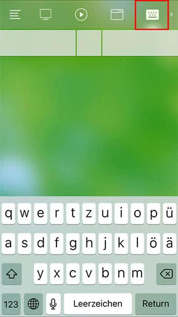 Remote Mouse App für iPhone