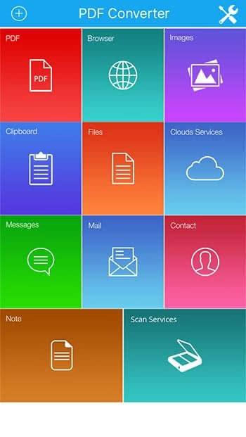 Dateien in PDF umwandeln auf dem iPhone