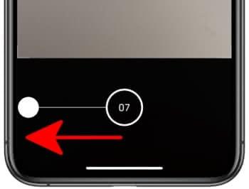 Serienaufnahme auf dem iPhone 11