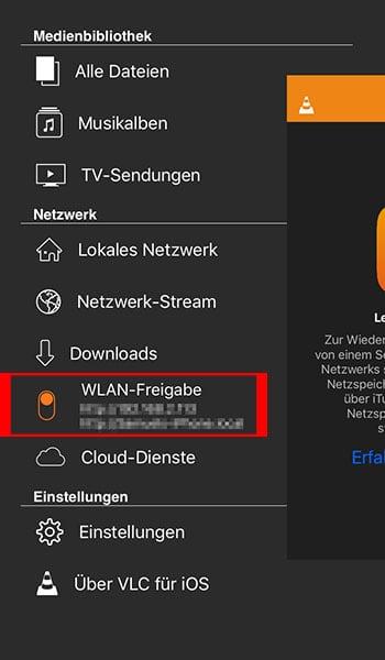 Auf dem iPhone AVI-Videos abspielen mit VLC für iOS