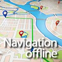 iPhone Navigation offline Logo