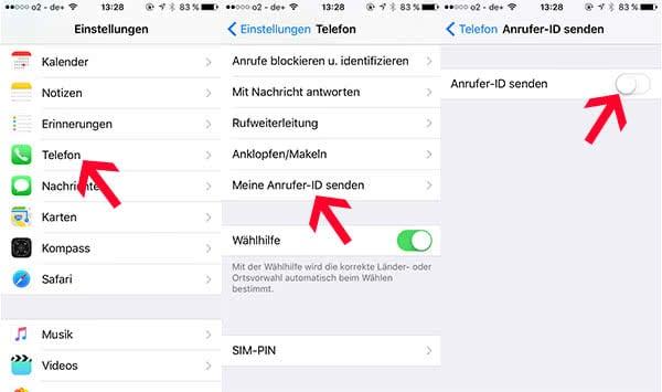 Auf dem iPhone anonyme Anrufe sperren unter iOS 13