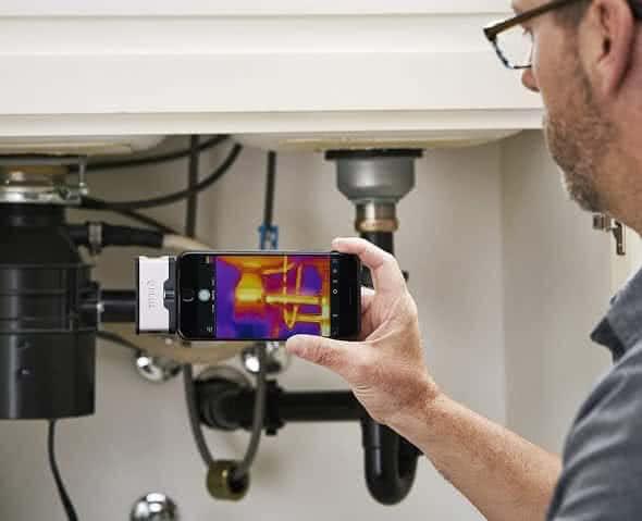 Mit dem iPhone Infrarot-Aufnahm machen