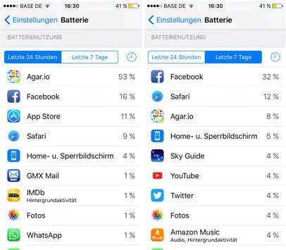 apps mit hohem akkuverbrauch finden 1