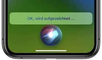 Sprachnachricht mit Siri verschicken