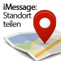 """Aktuellen Standort teilen mit """"Ich bin hier""""-Trick"""