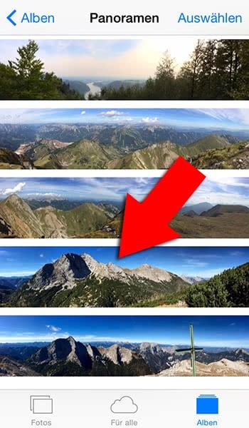 iphone fotos übertragen erkennt nur favoriten
