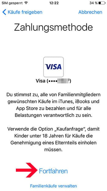 iPhone Familienfreigabe aktivieren & einrichten