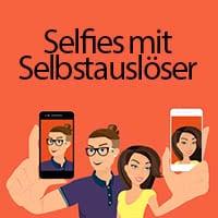 iPhone Selbstauslöser für Selfies und Fotos verwenden