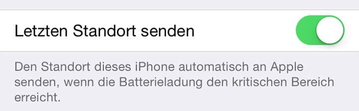 Verlorenes iPhone mit leerem Akku mit Mein iPhone suchen-Funktion wiederfinden