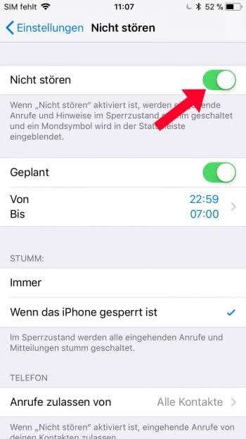 Iphone  Anonyme Anrufe Blockieren