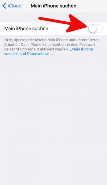 Mein iPhone suchen 2