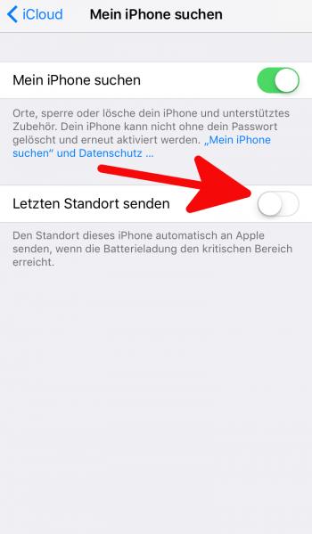 Mein iPhone suchen 3
