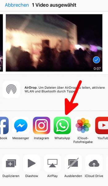 Whatsapp Bilder Oder Videos Verschicken