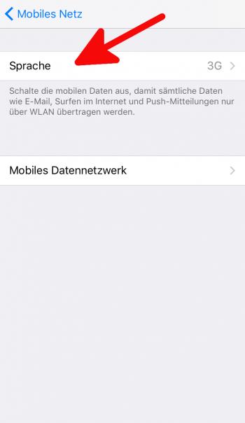 LTE 3G 2G