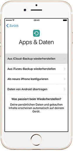 Gelöschte Nachrichten am iPhone wiederherstellen mit iCloud-Backup