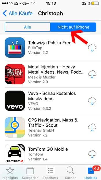 iphone gelöschte apps wiederherstellen