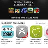 App Store aktualisieren