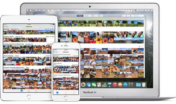 Fotos und Videos über iCloud-Fotomediathek synchronisieren