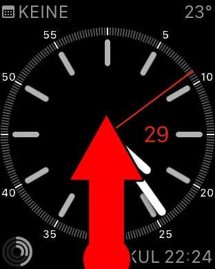 iPhone im Dunkeln finden mit Apple Watch