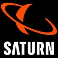 Logo des Elektrodiscounters Saturn