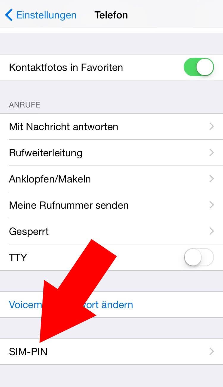 sim karte entsperren iphone Pin Karte Der Wichtigen
