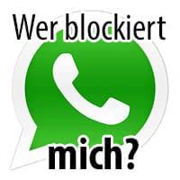 Warum bekomme ich bei Whatsapp nur ein haken, obwohl ich nicht blockiert wurde?