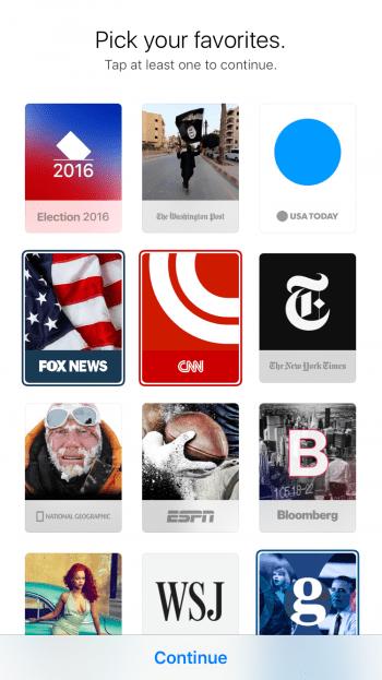 Apple News App verwenden