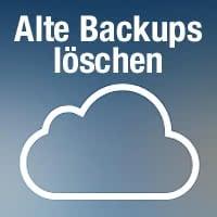 Alte iCloud Backups löschen und iCloud Speicherplatz freigeben